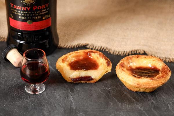 Pastel de Nata mit Portwein